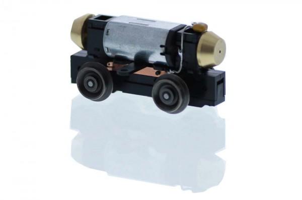 Universalantrieb-Drehgestell H0 Drehgestellbalken, Motor 12V= 4 Räder, Achsstand 23mm