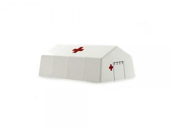 Sanitätszelt Rotes Kreuz, 1:87