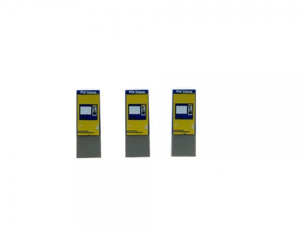 Fahrkartenautomat NS Groep N.V (NL) 3 Stück, 1:87