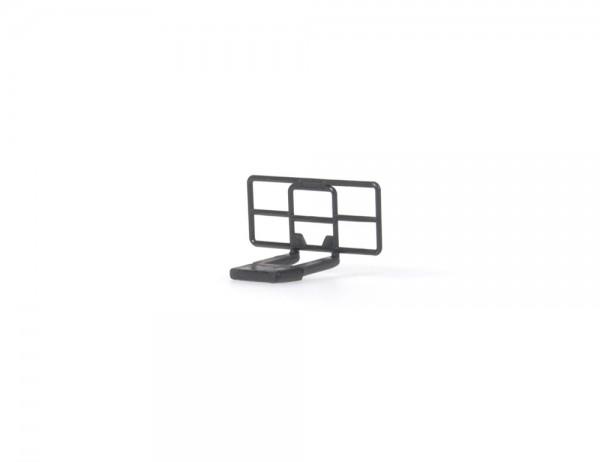 Rammschutz schwarz (5 Stück), 1:87