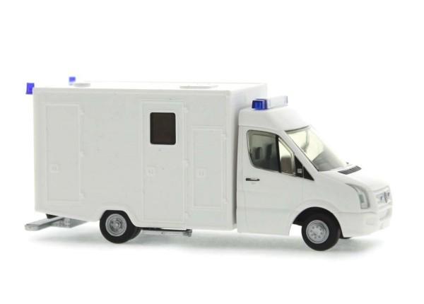 WAS Volkswagen Crafter '06 RTW Klapptür weiß, 1:87