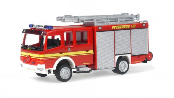Schlingmann Mercedes Benz LF 16/12 Feuerwehr Hopsten, 1:87