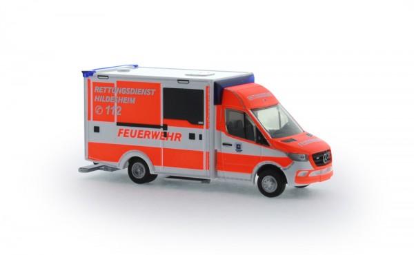 WAS Design - RTW´18 Rettungsdienst Hildesheim, 1:87
