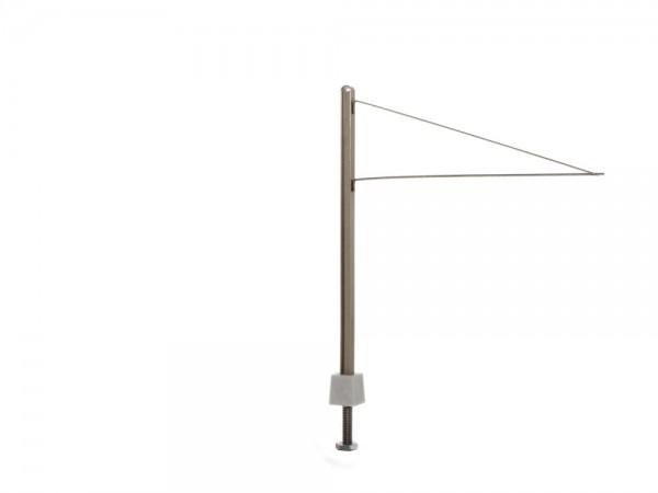 Straßenbahn H-Profil Mast mit Doppelausleger (5 Stück), 1:87