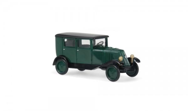 Renault NN1 Pritsche Plane grün schwarz, 1:87